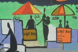Ursula Mayer and other artistes, street art