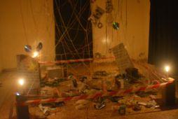 Abdias Ngateu, installation