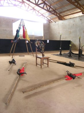Joseph Francis Sumegne - installation
