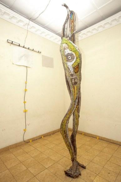 Jean Michel Dissakè - Sculpture